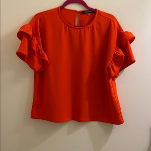 Sugarlips bright red top
